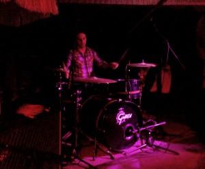 Drummer at work...