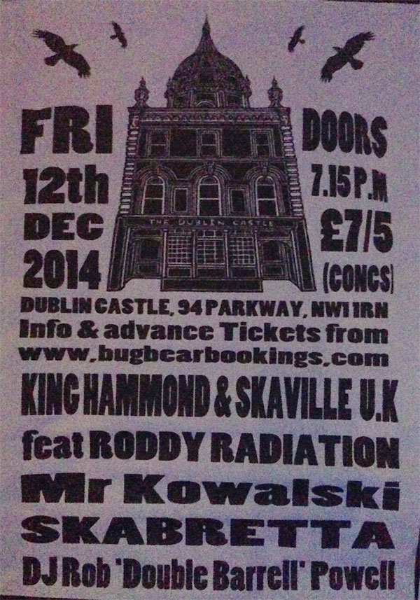 The Dublin Castle Flyer